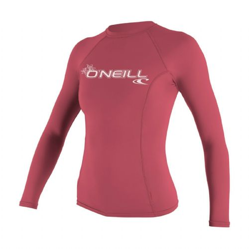 O'NEILL WOMENS RASH TOP.SKINS UPF50+ SUN PROTECTION PINK GUARD VEST 9S 549/173